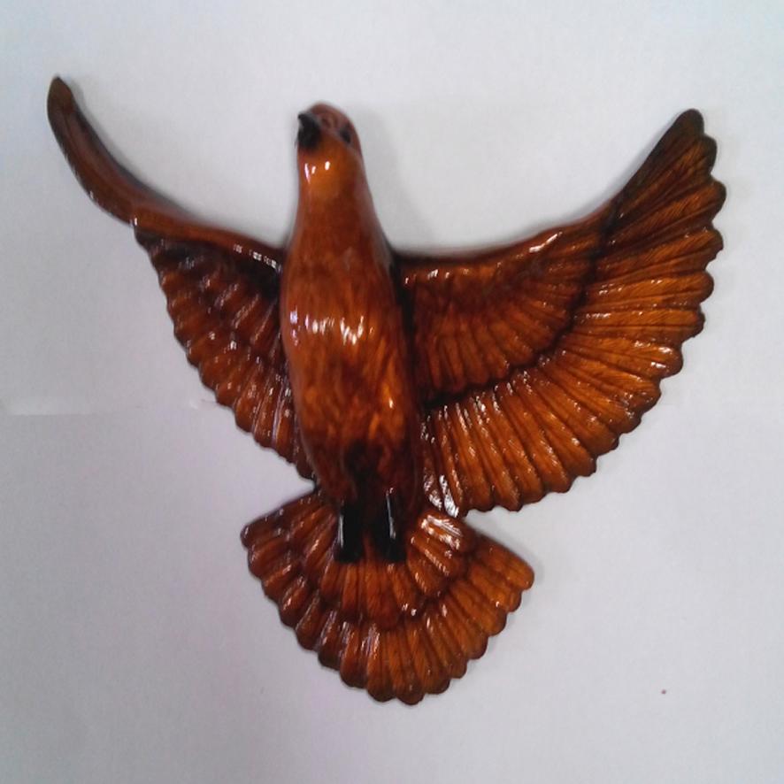 Ритуальный голубь Цвет бронза